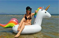 Inflatable Pool Float Tube Mat Raft UNICORN Toy Water River