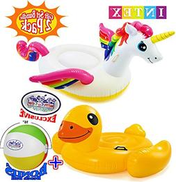 inflatable pool floats unicorn duck