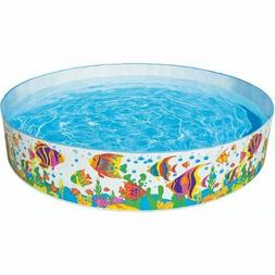 Inflatable Pool For Kids Toddler Children Swimming Pools Out