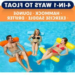 Inflatable Pool Hammock Pool Floats For Adults Swimming  Lou