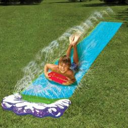 Inflatable Pool Lawn Water Slide Outdoor Backyard For Kids C