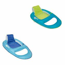 SwimWays Inflatable Pool Lounger w/ SwimWays Swimming Pool R