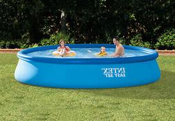inflatable pool w filter pump 15 x
