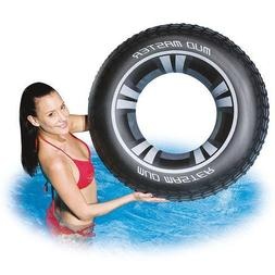 Splash Swim Inflatable Ring Float Toy Pool Raft Water Traini