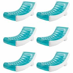Intex Inflatable Rockin Lounge Pool Floating Raft Chair with