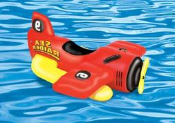 Inflatable Sea Plane Ride On Pool Toy