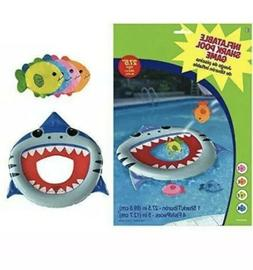 inflatable shark pool game set party favor