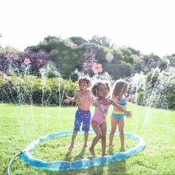 Inflatable Sprinkler Ring Children Swimming Pool Lawn Outdoo