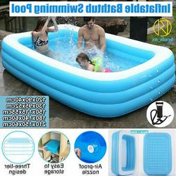 inflatable summer swimming pool outdoor family inflatable
