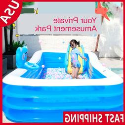 Inflatable Summer Swimming Pool Outdoor Family Inflatable Po