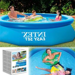 "Inflatable Swimming Pool 10'x30""  Family Intex Yard Backyard"