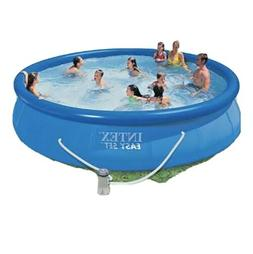 """Inflatable Swimming Pool Intex 15'x33"""" w/Filter Above Ground"""