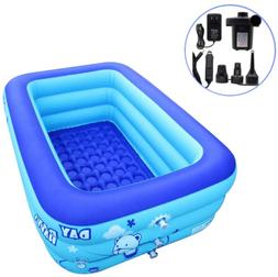 Inflatable Swimming Pool Hot Tubs Bathtubs Inflated Tubs Wit