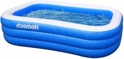 Homech Inflatable Swimming Pool, Inflatable Kiddie Pools, Fa