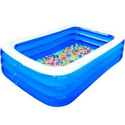 Inflatable Swimming Pool Outdoor Backyard Inflated Tubs for