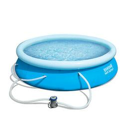 Inflatable Top Ring Fast Set Pool Set Outdoor 530G Gallon Fi