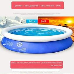 Inflatable Top Ring Round Pool Outdoor Garden Lawn Ground Se