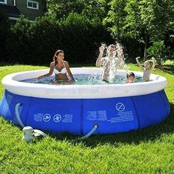 Inflatable Top Ring Swimming Pools Outdoor Garden Lawn Groun
