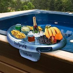 Inflatable Hot Tub Side Tray Floating Spa Bar for Drinks and