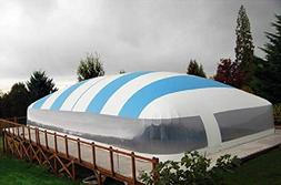 Inflatable Hot Tub Swimming Pool Solar Dome Cover Tent W/Blo