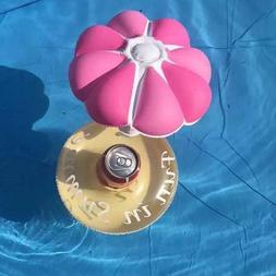 Inflatable Umbrella Drink Cup Holder Toys for Party Swimming