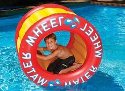 The Inflatable Water Wheel Water Float Toy for Swimming Pool