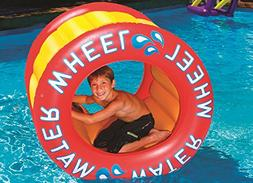 "45"" Inflatable Water Wheel Swimming Pool Raft Toy"