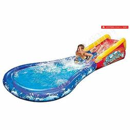 inflatable wave crasher surf water slide