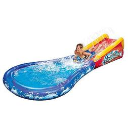Banzai Inflatable Wave Crasher Surf Water Slide and Kiddie P