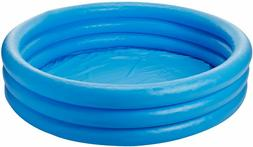 Intex Crystal Blue Inflatable Pool 45 x 10 Inch Family Play