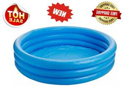 "Intex Crystal Blue Inflatable Pool, 45 x 10"" - Escape the Su"