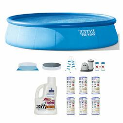 Intex Inflatable Above Ground  Pool Set w/  Filter  & Natura