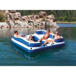 Intex Oasis Island Inflatable 5-Seater Lake/River Floating L