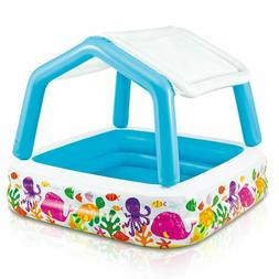 Kids Inflatable Pool Sun Shade Inflatable Swimming Pools For
