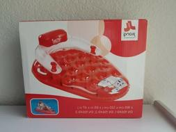jilong red white strawberry shaped pool inflatable