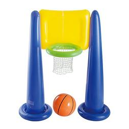 Big Play Sports Jumbo Inflatable Pool Basketball Hoop Set w/