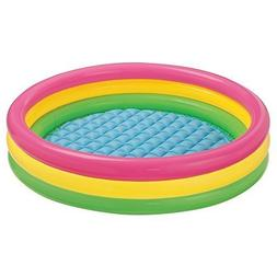 "Intex Kiddie Pool - Kid's Summer Sunset Glow Design - 58"" x"