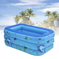 Kiddie Pool Portable Inflatable Kids Pool Bathtub Foldable S