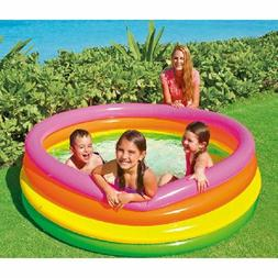 kids inflatable colorful swimming pool children bottom