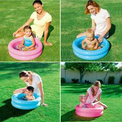 Kids Round Inflatable Swimming Pool Home Outdoor Baby Small