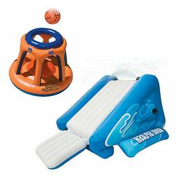 Intex Kool Splash Inflatable Swimming Pool Water Slide & Gia