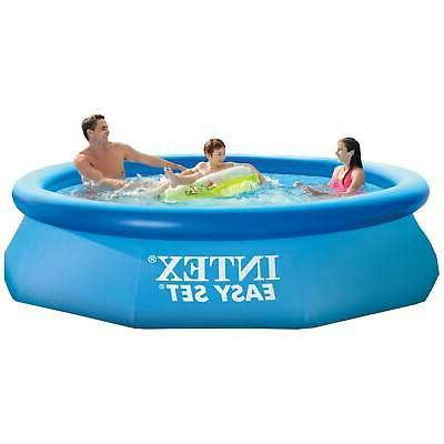 Intex 10ft Easy Inflatable Swimming with GPH Filter