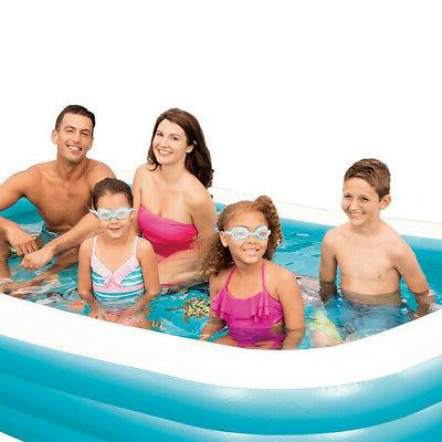Summer Waves 6ft x 22in Deluxe Inflatable Pool