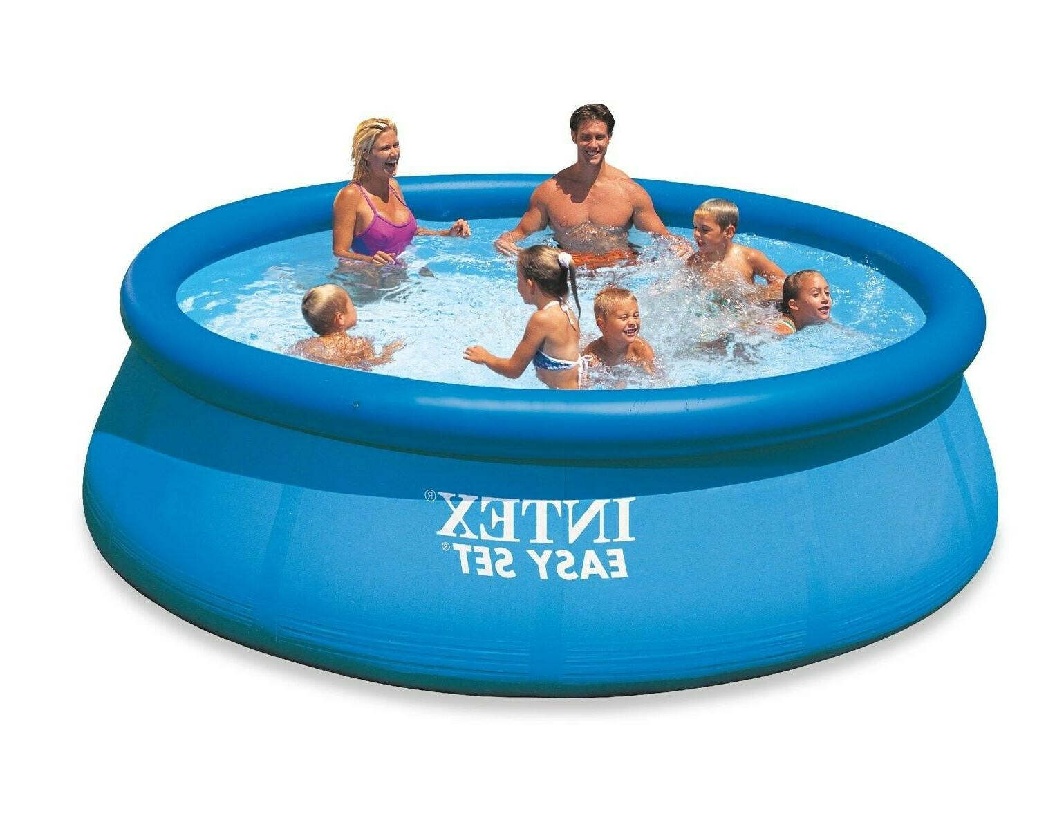 12 x 30 easy set inflatable above
