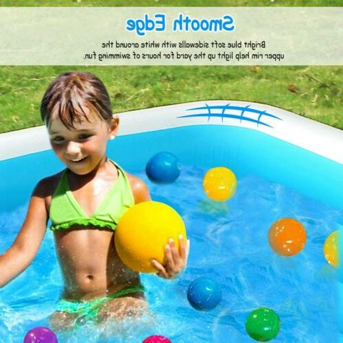 """120""""x72"""" Family Pool Garden Summer Kids Adults Pool"""