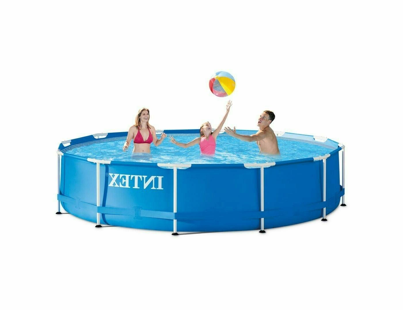 Intex 12ft 33in Above Frame Swim Summer Waves