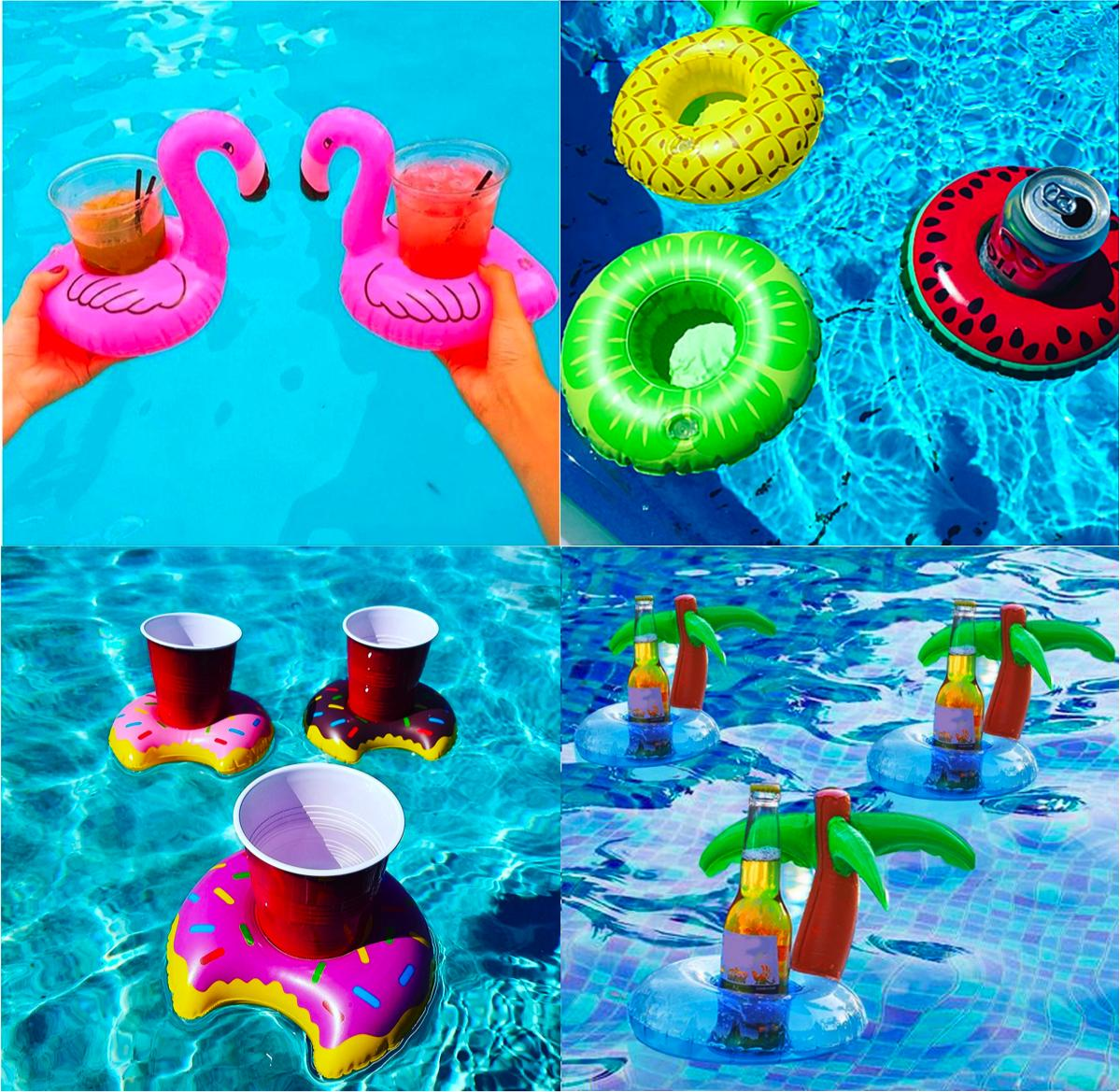 Inflatable Floating Cup Swimming Pool