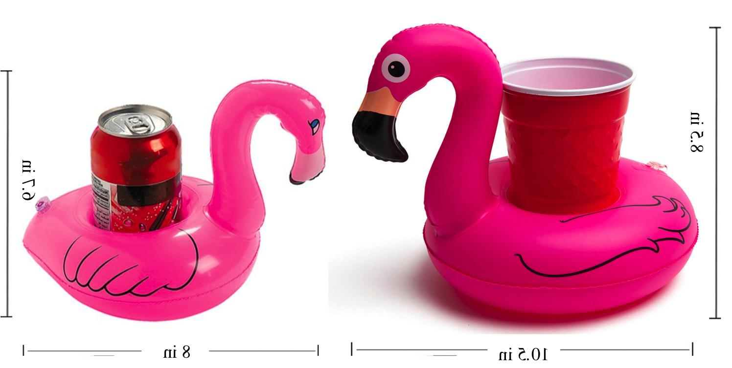 Inflatable Drink Cup Swimming Beach