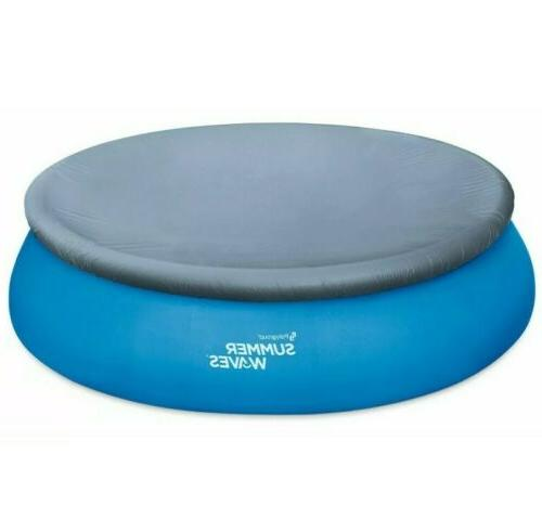 Summer Waves Foot Quick Set Ground Debris Cover