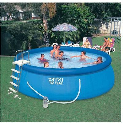 Intex Above Inflatable Pool With